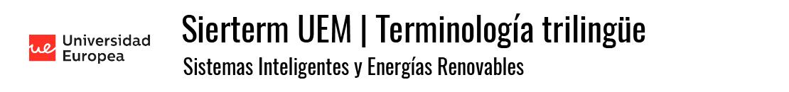 Sierterm UEM | Terminología trilingüe